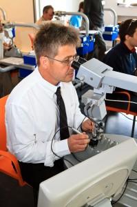 Ausbildung in der Augenklinik
