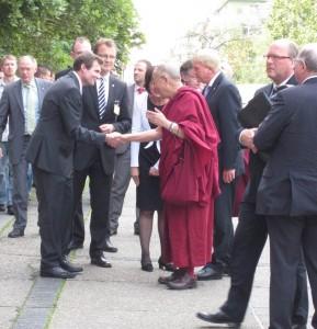 Dalai Lama an der Goethe-Uni
